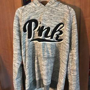VS Pink grey sweatshirt